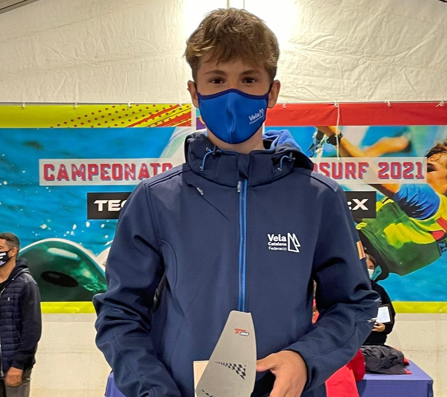 Sandro Portune podium
